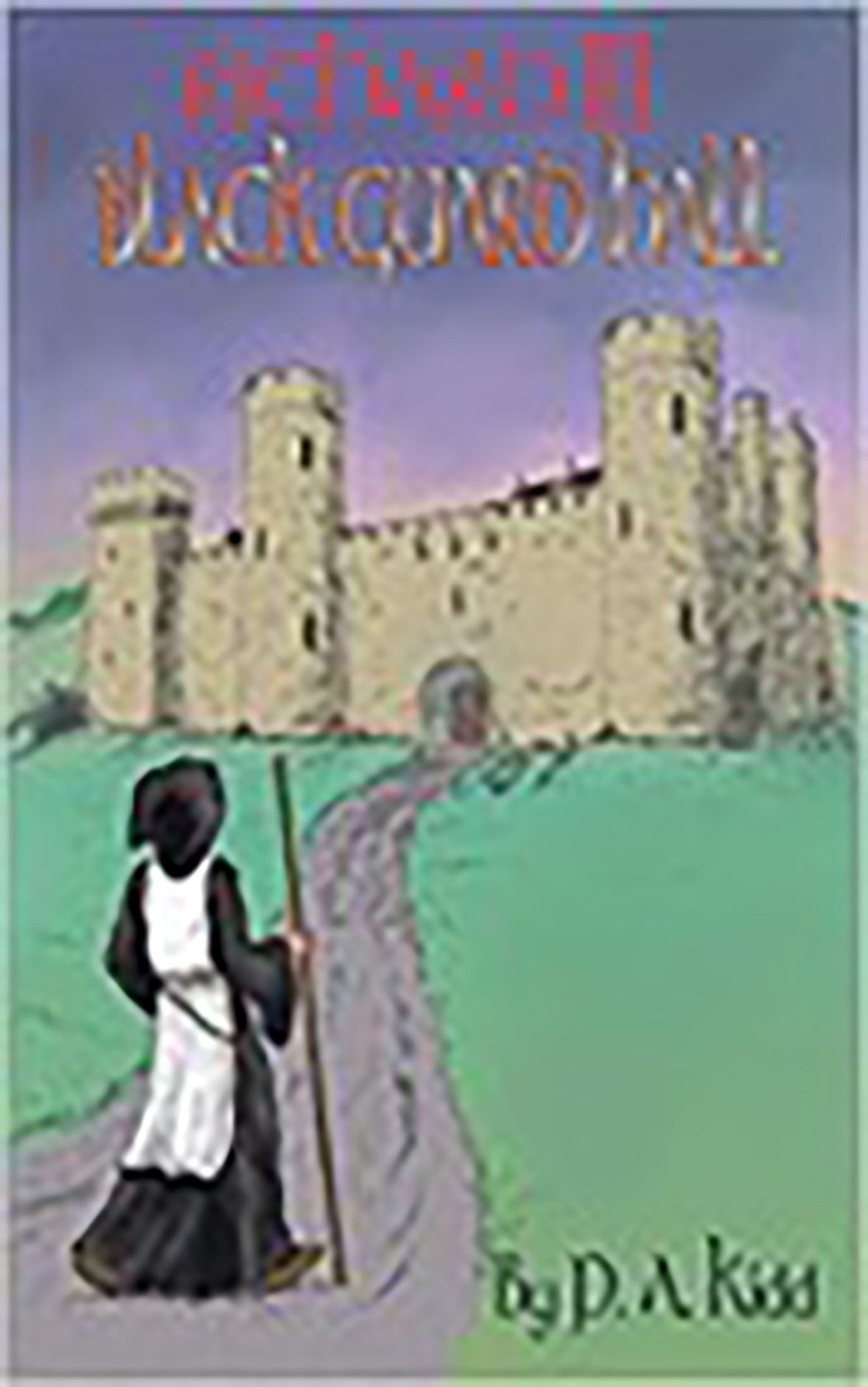 Front cover of a book: Black Guard Hall by P.A. Kidd