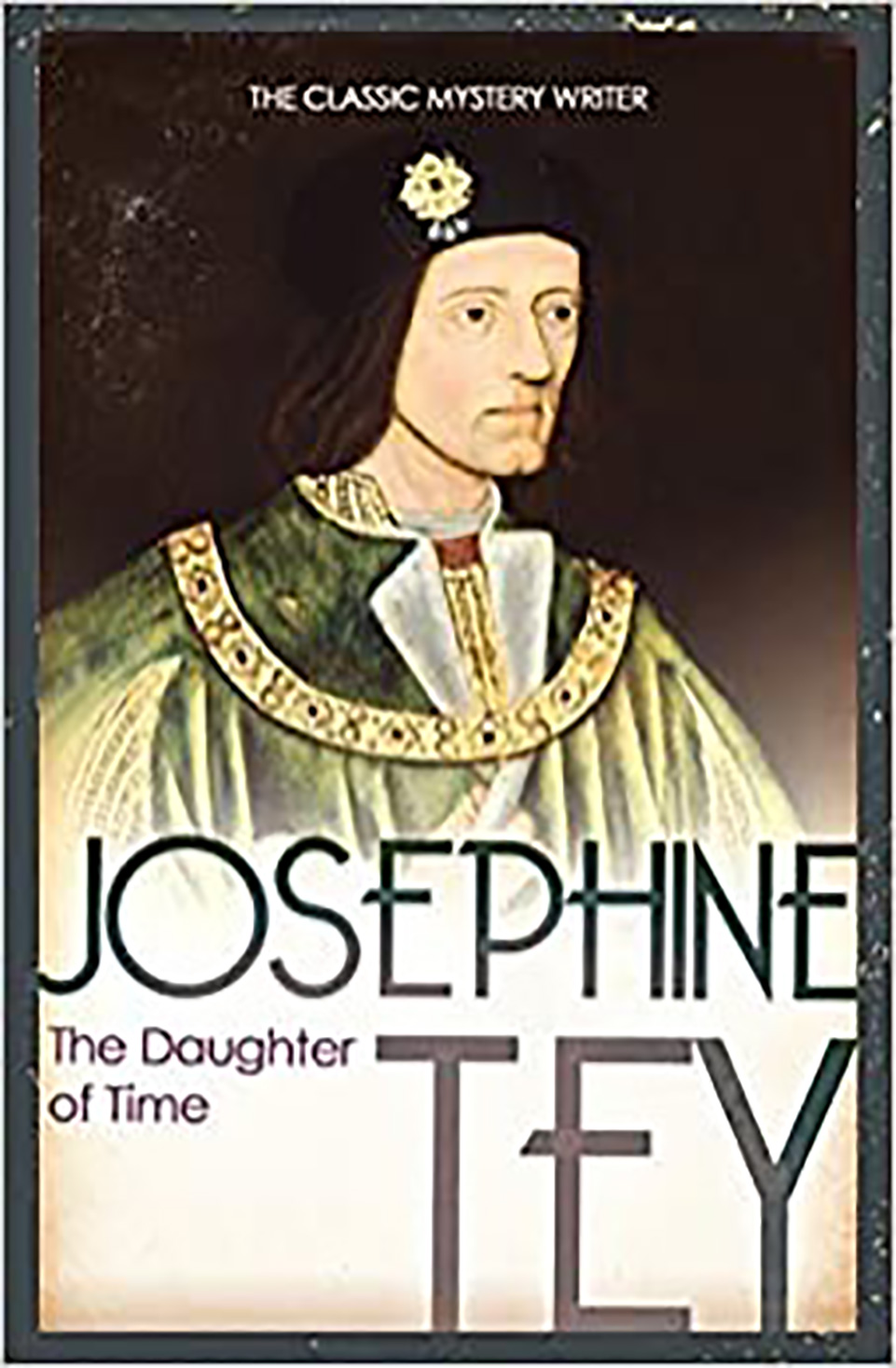 Front cover of a book: Daughter of Time by Josephine Tey