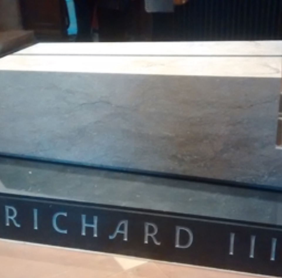 Tomb of Richard III in Leicester Cathedral