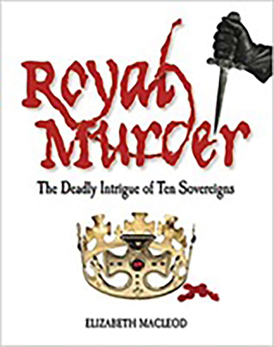 front cover of a book: Royal Murder by Elizabeth Macleod