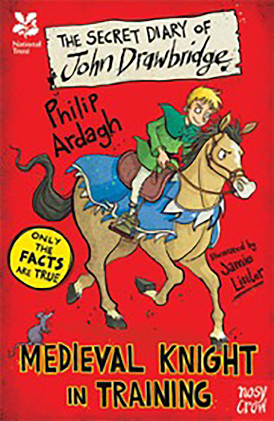 Front cover of a book: The Secret Diary of John Drawbridge by Philip Ardagh