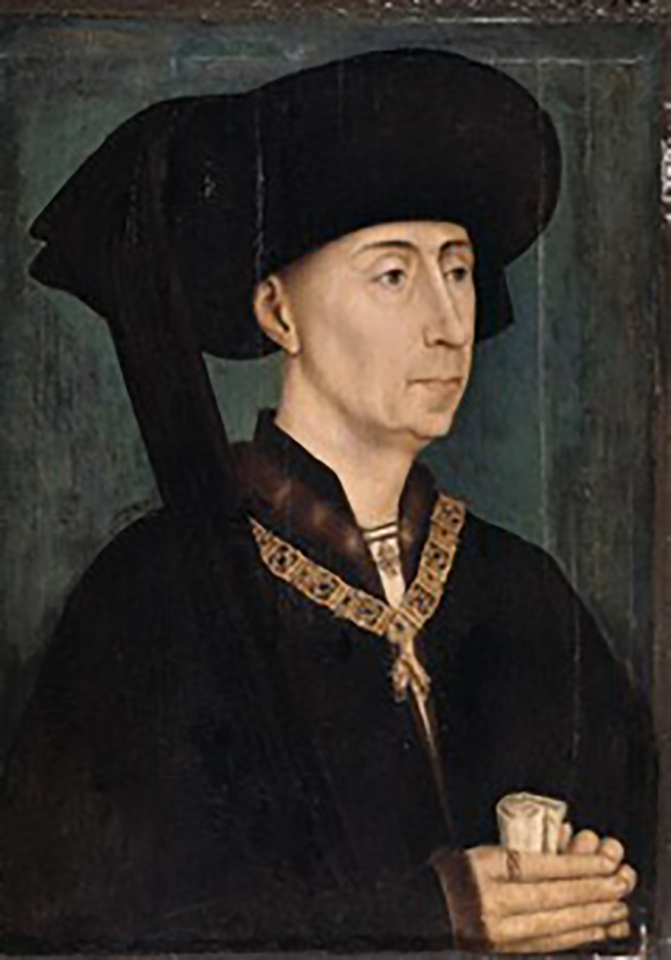 Painting of Philip the Good, duke of Burgundy