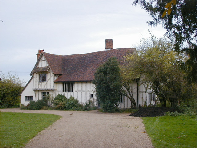 15th century Valley Farm, Flatford is owned by the National Trust