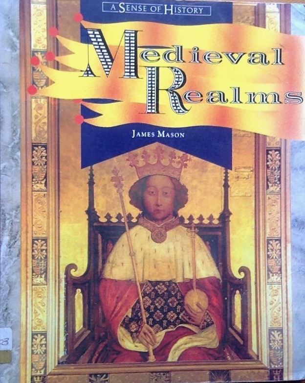 Front cover of a book on Medieval Realms featuring Richard II portrait
